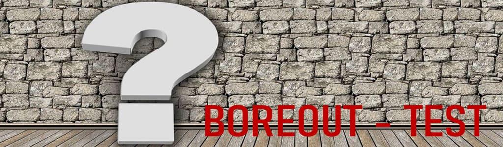 Ein Boreout entsteht durch dauerhafte Unterforderung, daraus resultierender extremer Langweile und ein immer stärker wachsendes Desinteresse an allem was mit der Arbeit zu tun hat. Machen Sie den Test, ob Sie vom Boreout betroffen sind.